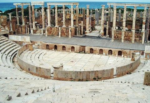 archwium Ministerstwa turystyki Libii