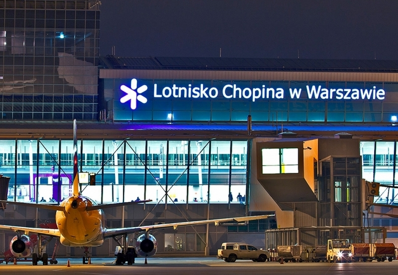 archiwum Lotniska Chopina w Warszawie