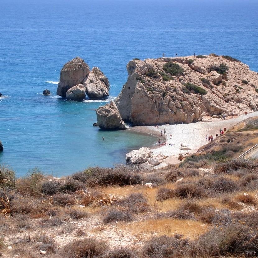 Cypr Petra Tou Romiou
