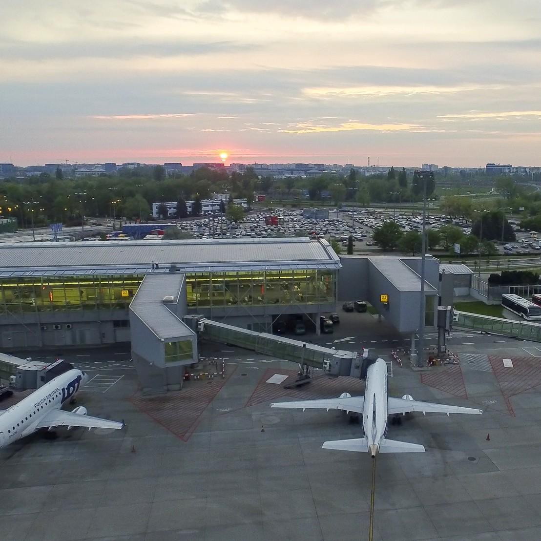 Łukasz Widziszwoski/Lotnisko Chopina w Warszawie
