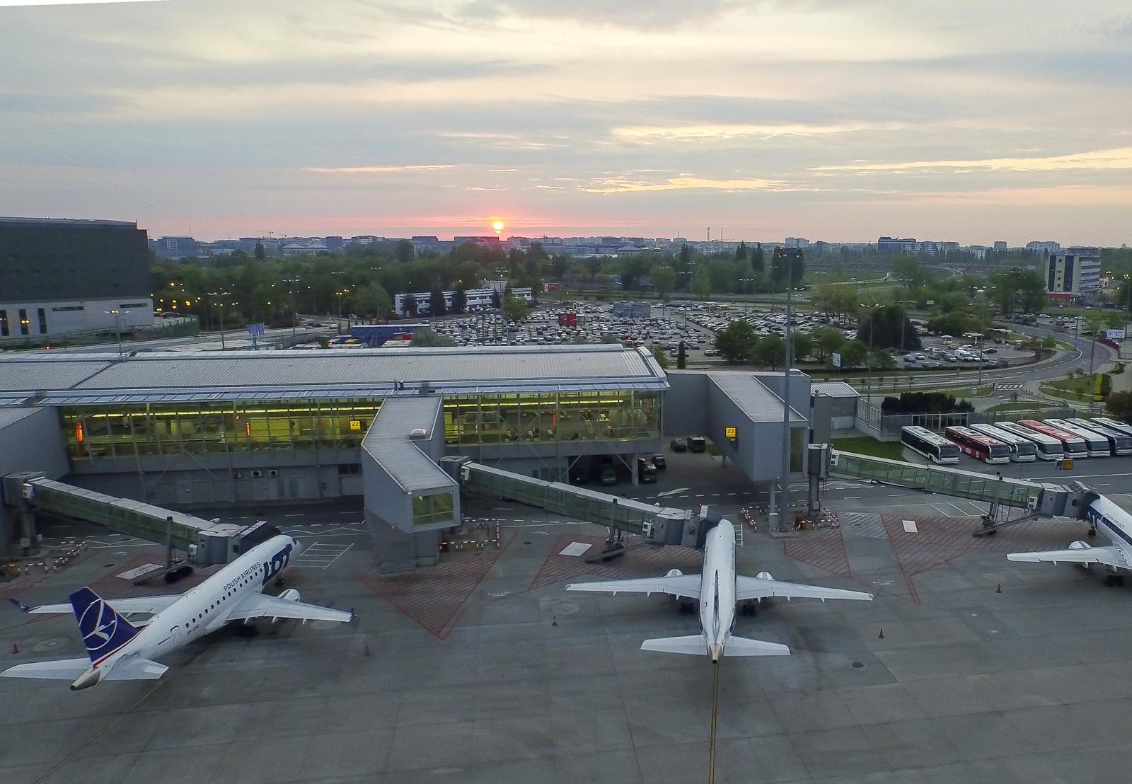 Wciąż mało pasażerów na Lotnisku Chopina