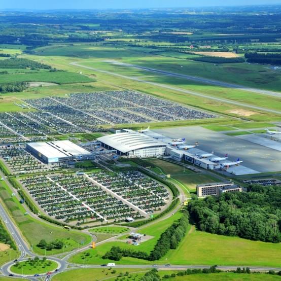 archiwum lotniska w Billund