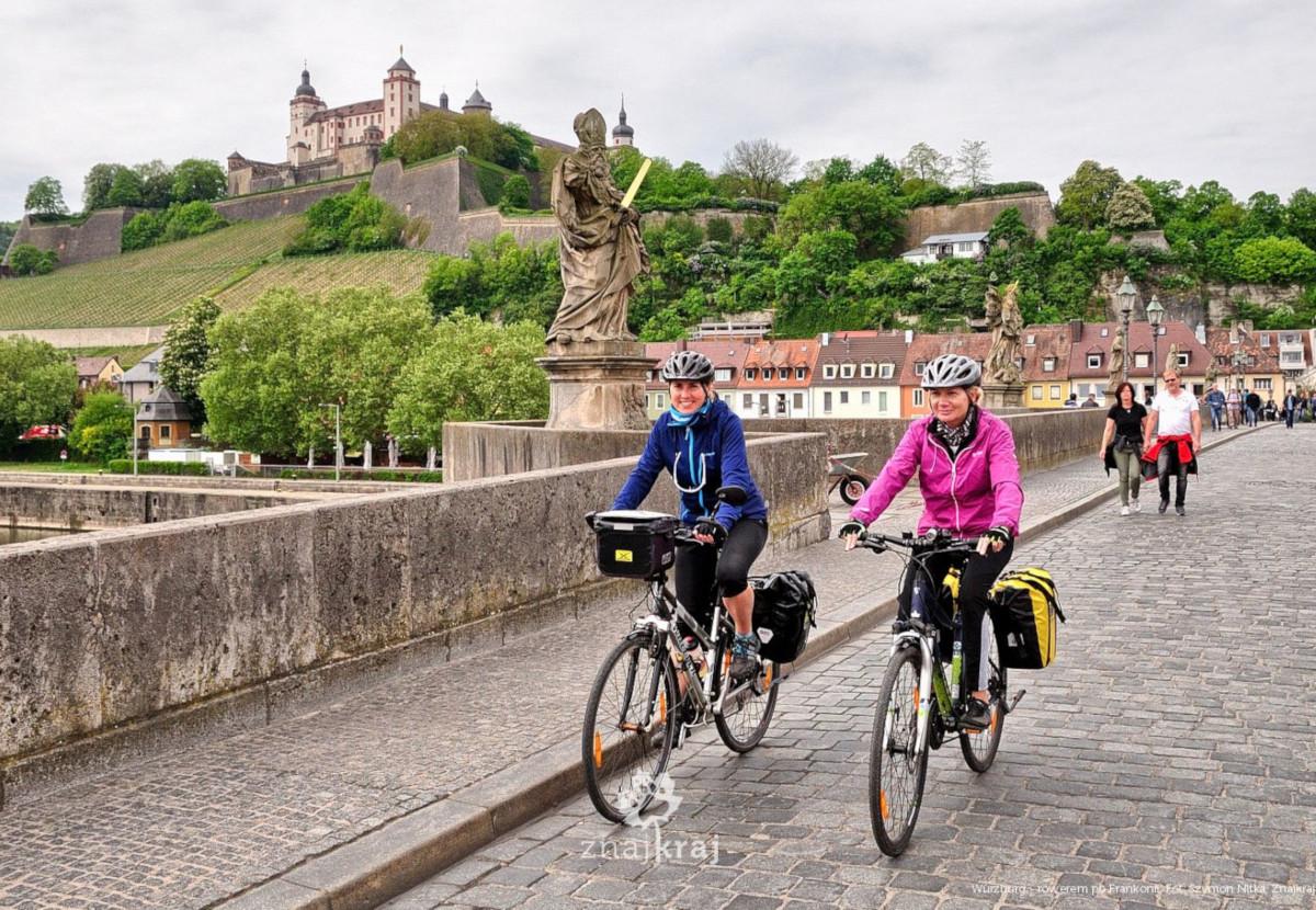 wurzburg rowerem po frankonii frankonia