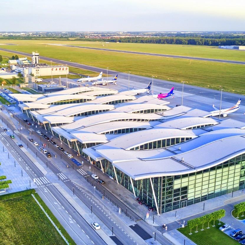fot. Wiktor Wojniak/lotnisko we Wrocławiu
