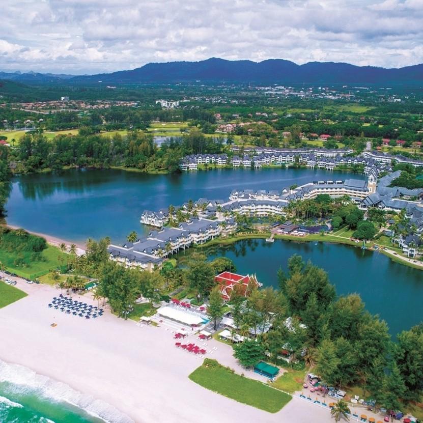 archiwum hotelu Angsana Laguna Phuket
