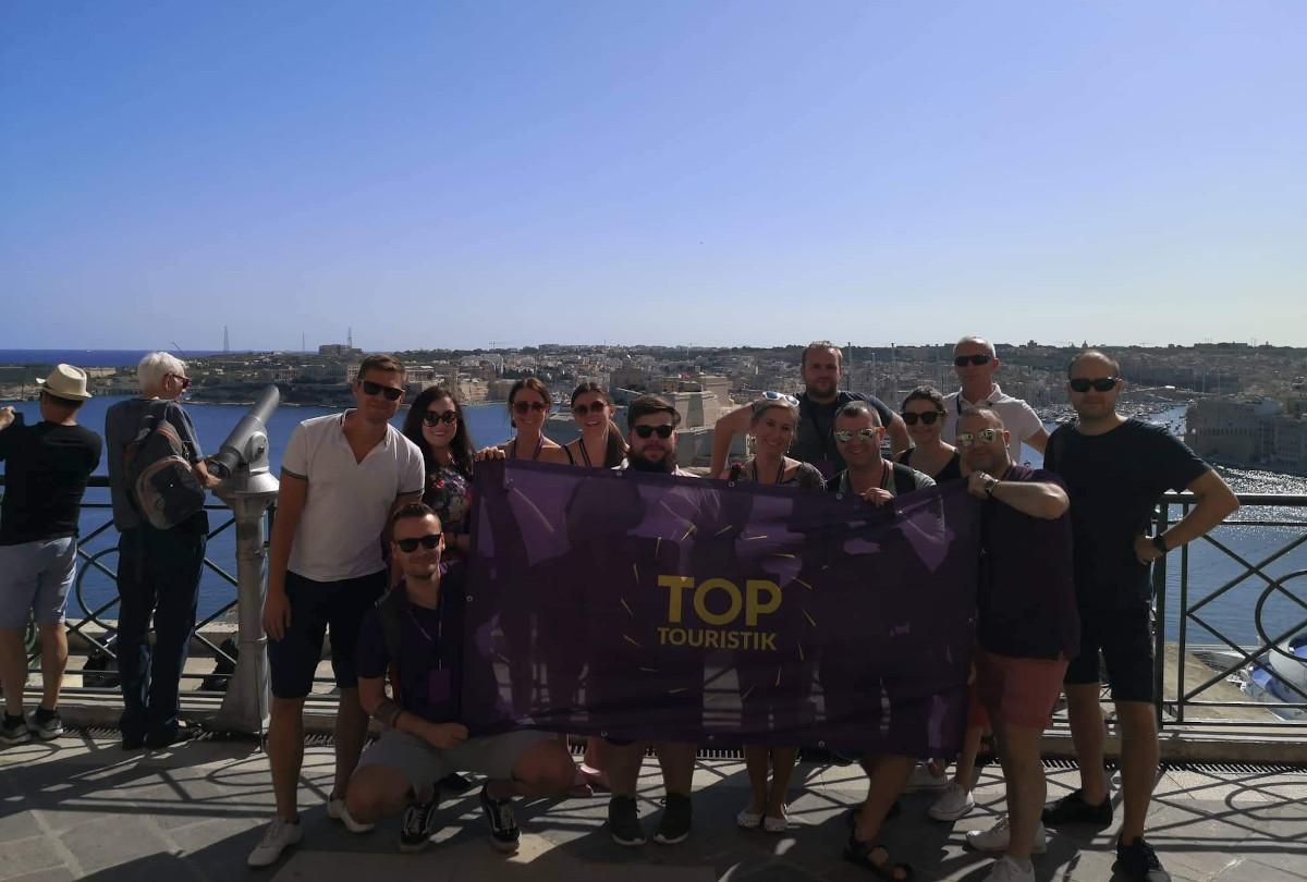 top touristik malta studytour