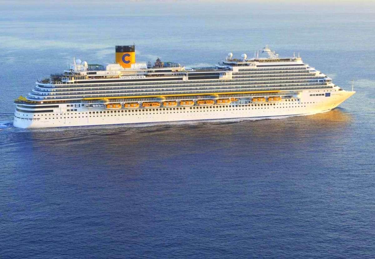 Statek Costa Diadema