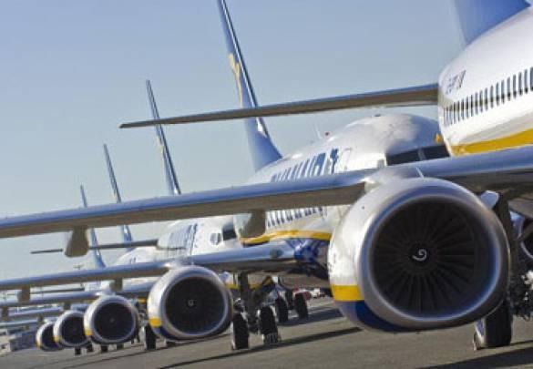 Ryanair redukuje zimowy rozkład lotów