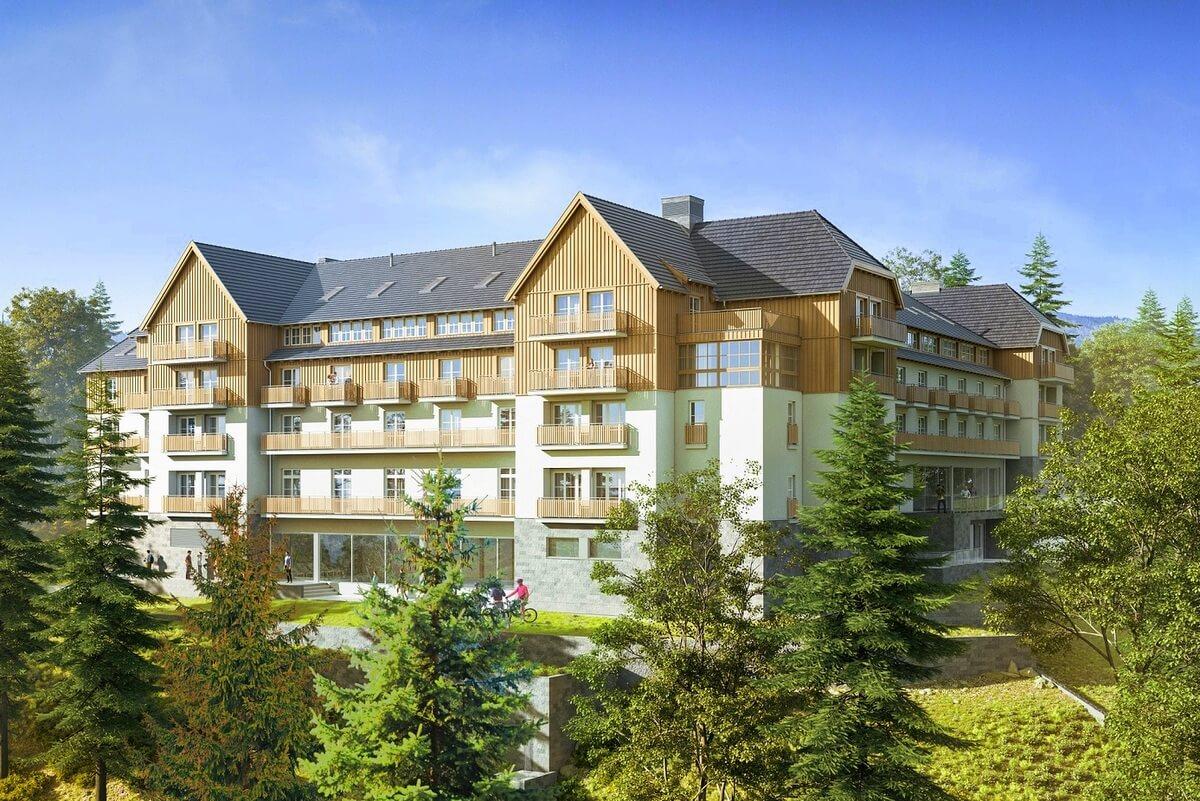 Wizualizacja nowego hotelu Mercure w Szklarskiej Porębie