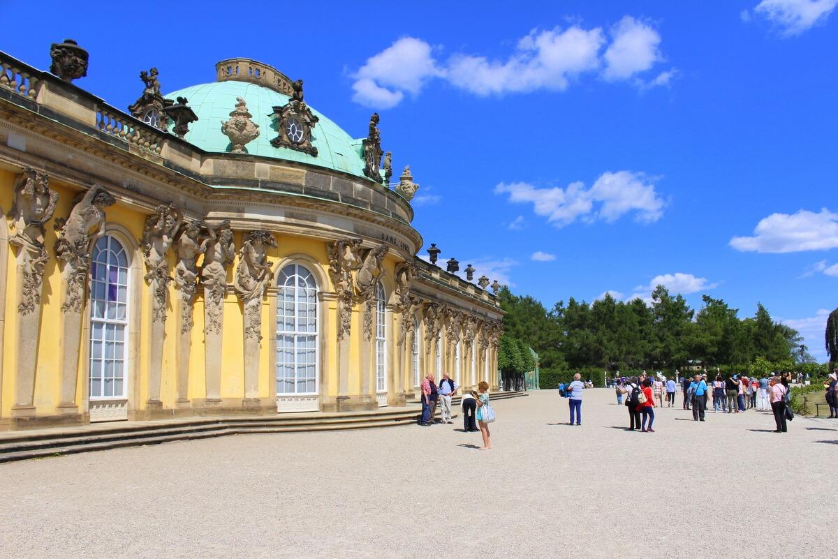 Pałac w Poczdamie