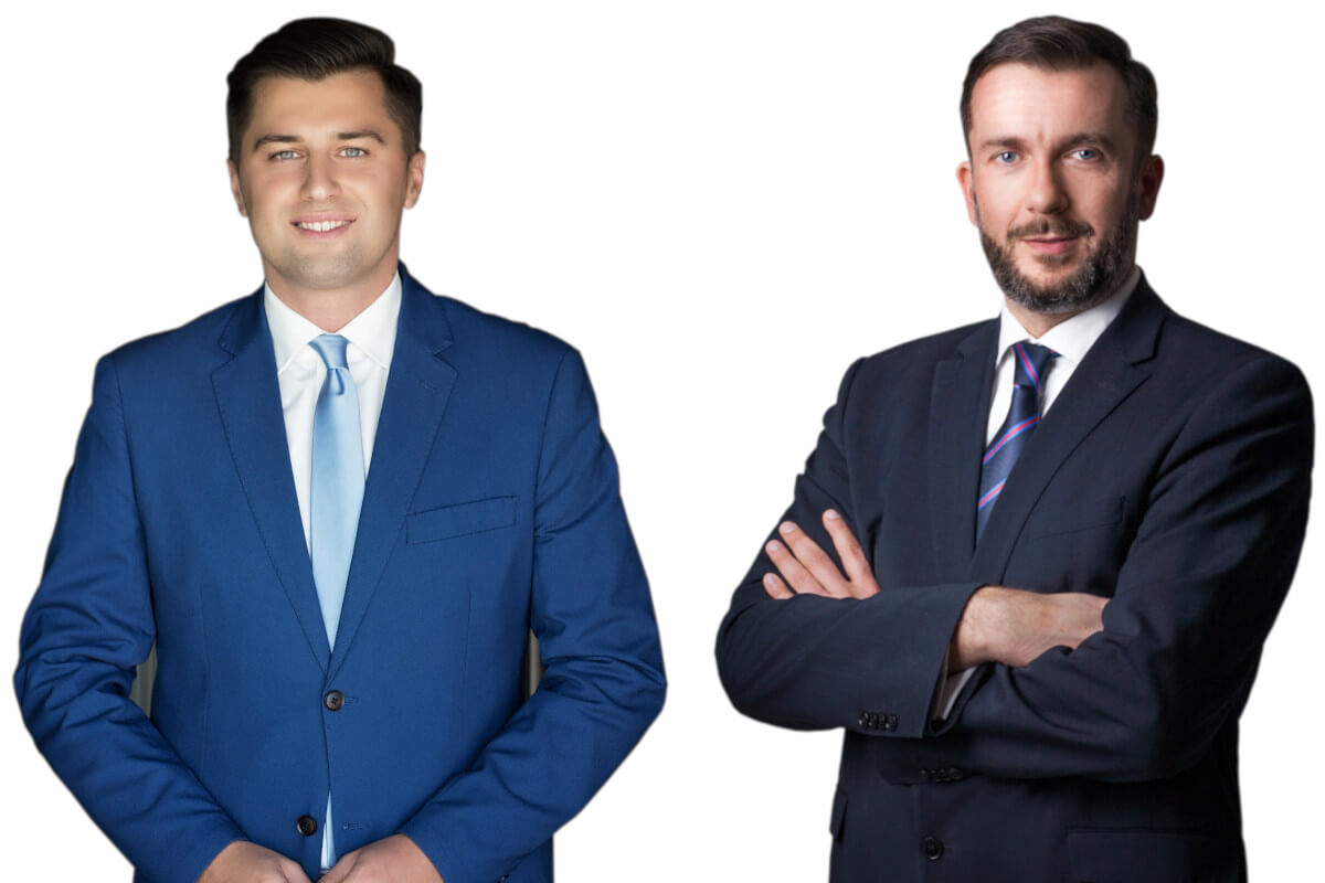 Piotr Pogonowski z Polonusa i Marcin Mączyński z IGHP