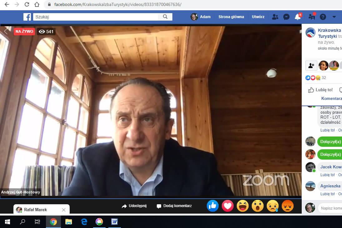 Telekonferencja z udziałem wiceministra Andrzeja Guta-Mostowego