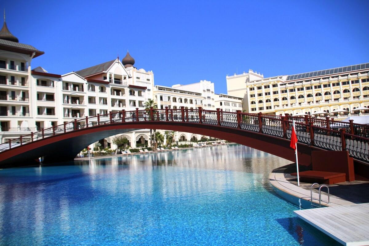 Jeden z hoteli na Tureckiej Riwierze