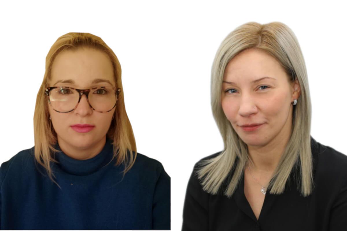 Katarzyna Smorek vs Lidia Łączny