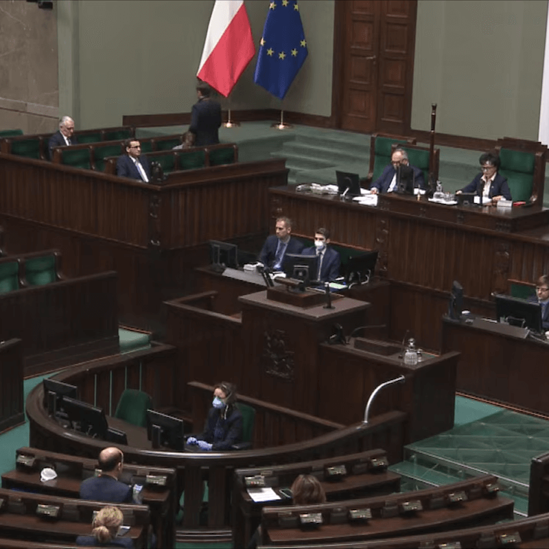 Sejm odrzucił poprawki Senatu do tarczy antykryzysowej