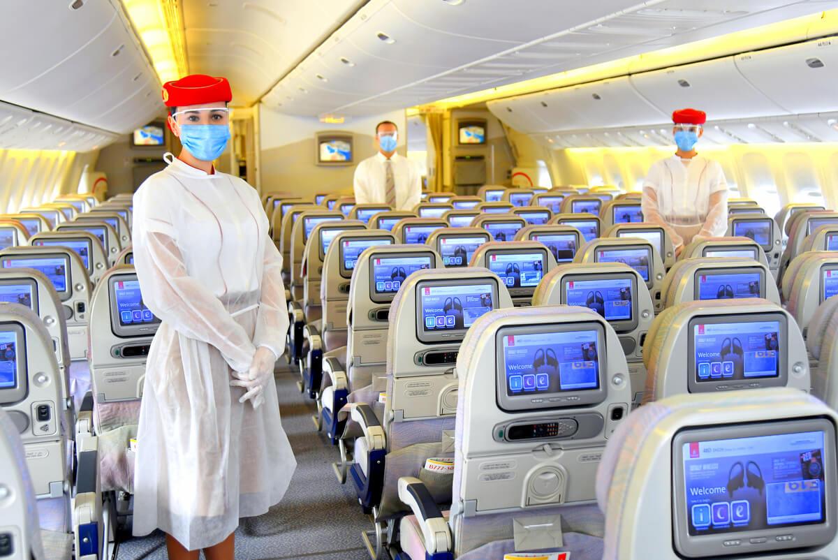 Emirates pokryją koszty leczenia w wypadku zarażenia koronawirusem