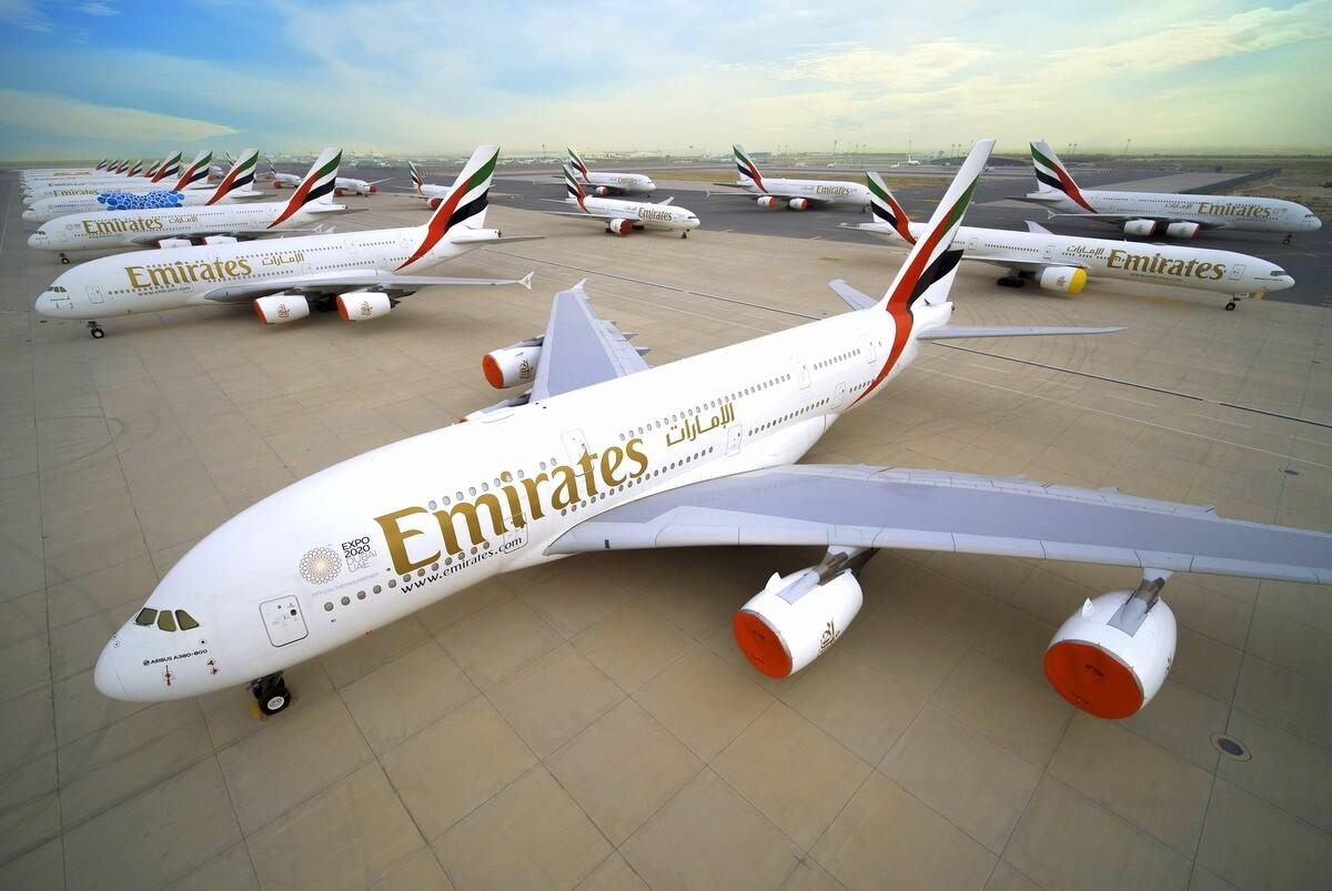 Samoloty floty Emirates