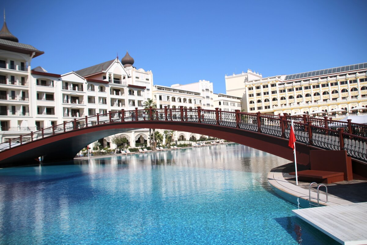 Jeden z hoteli tureckich