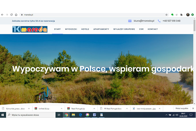 Mareda - specjalizacja to Polska