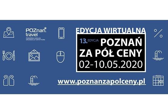 Edycja wirtualna akcji Poznań za pół ceny