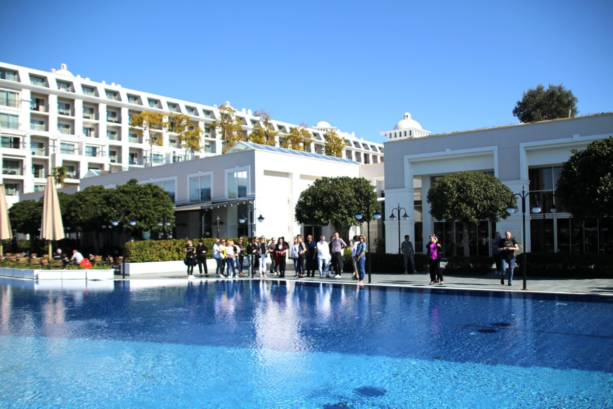 Turcja - jeden z hoteli w okolicach Antalyi