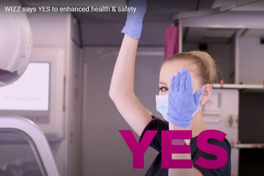 Wizz Air wdraża dodatkowe zasady bezpieczeństwa