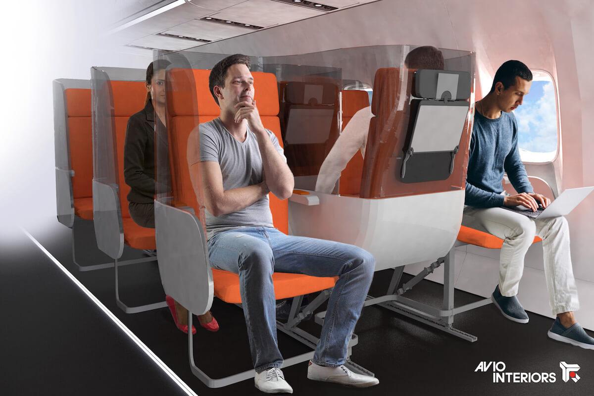 nowy układ siedzeń w samolotach