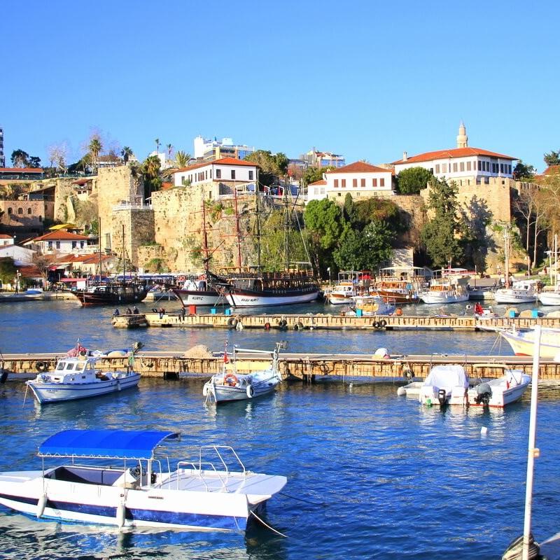 Antalya - stolica riwiery tureckiej