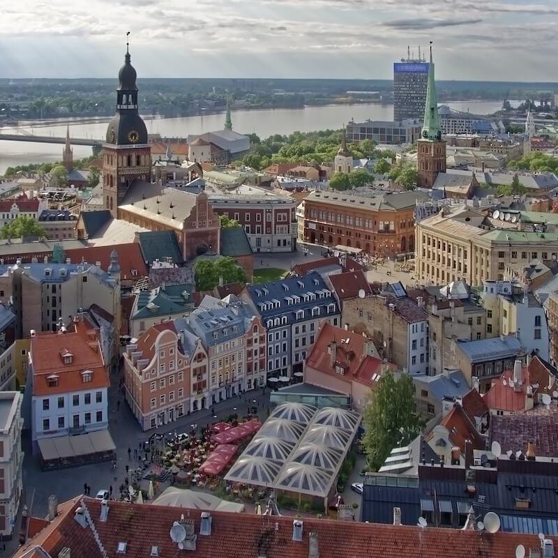 Łotwa Ryga kraje bałtyckie