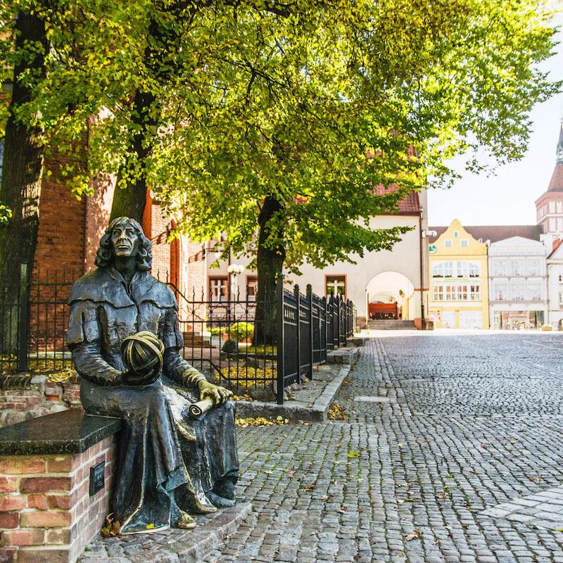 Olsztyn miasto Kopernika