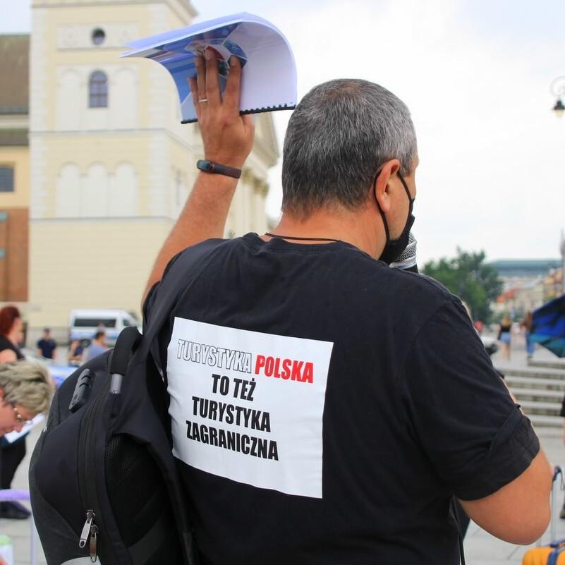 protest branży turystycznej