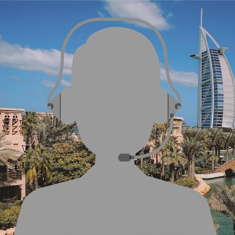 Dubaj wirtualną wizytę dziennikarzy