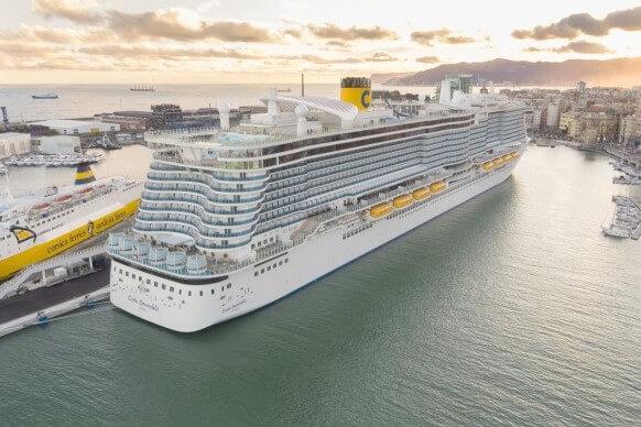 Costa Cruises przedłużają zawieszenie rejsów