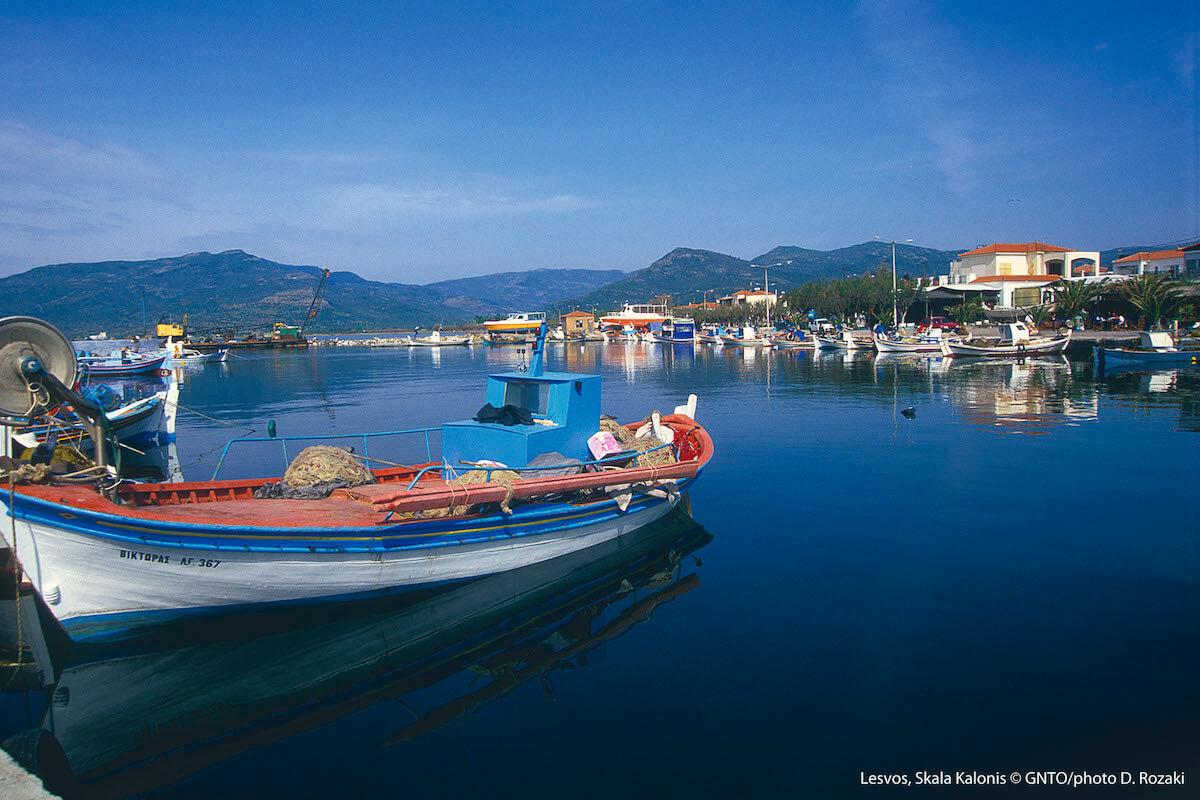 Lesbos, Skala Kallonis