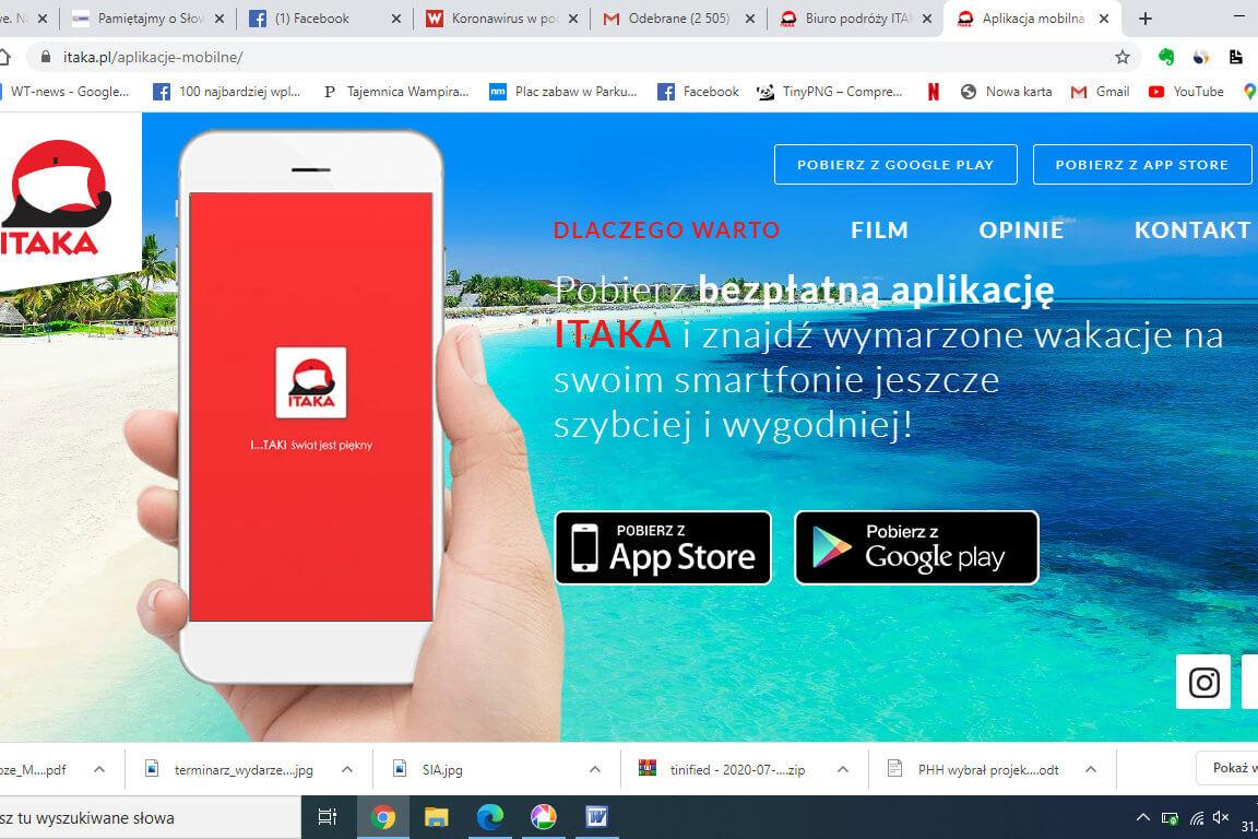 Nowości aplikacji mobilnej Itaki