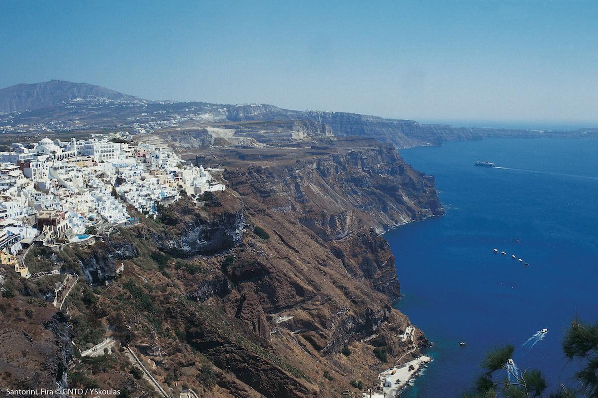 Santorini, Fira / fot. Y. Skoulas