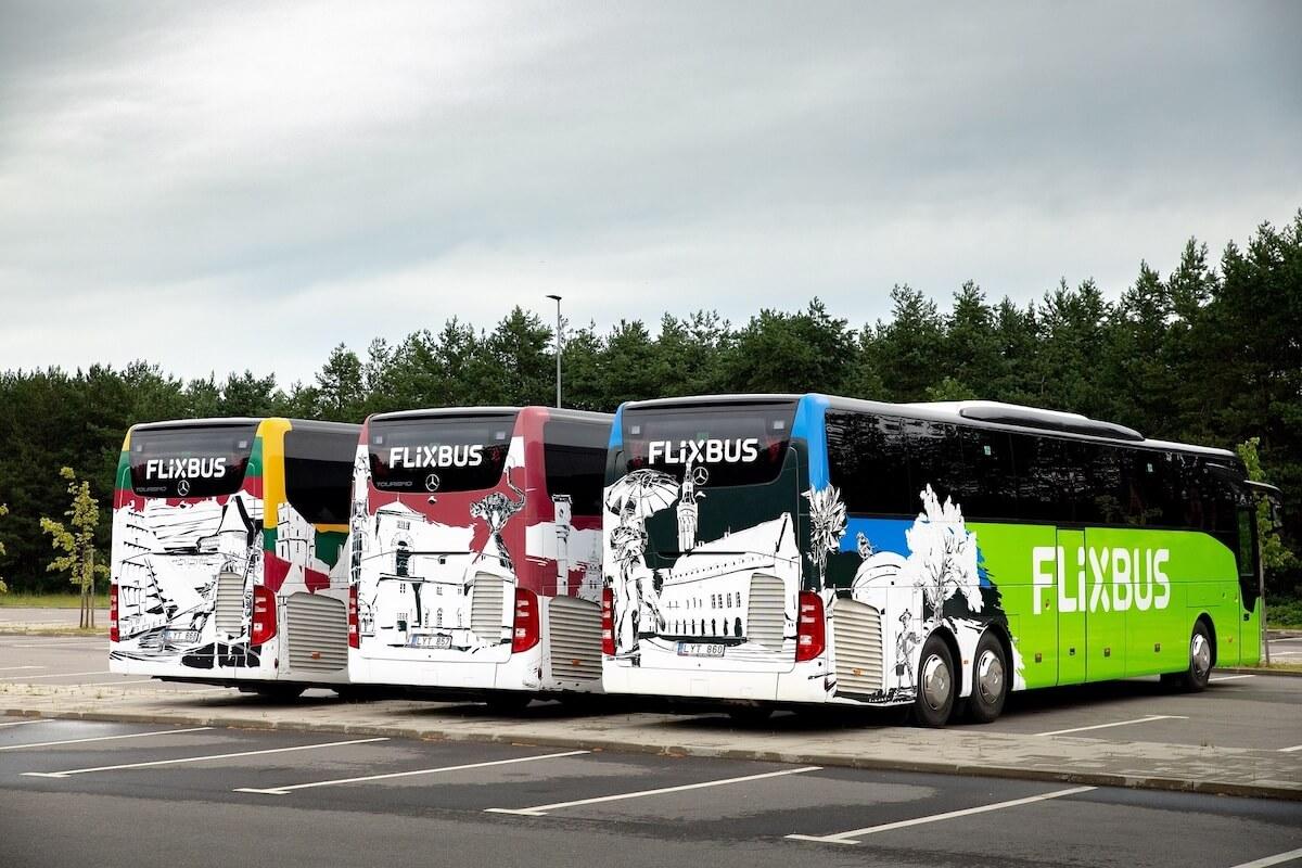 Flixbus w krajach bałtyckich