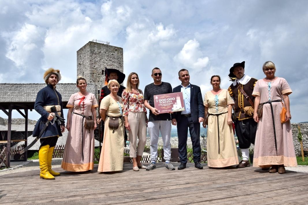 Milion turystów w pięć lata w Chęcinach