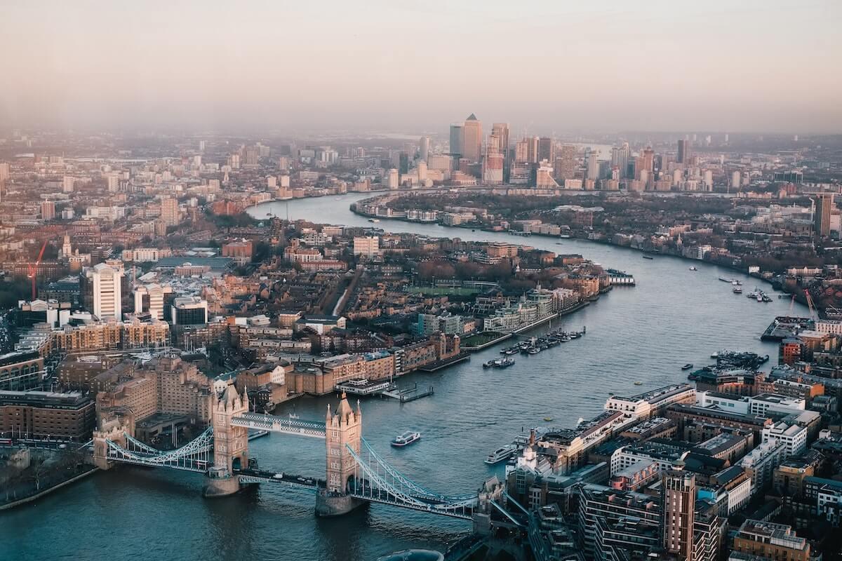 Londyn destynacje hazardowe
