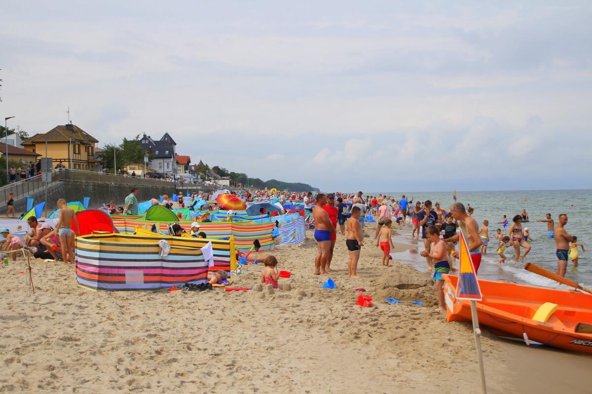 Polskie morze, jak zwykle cieszy się powodzeniem