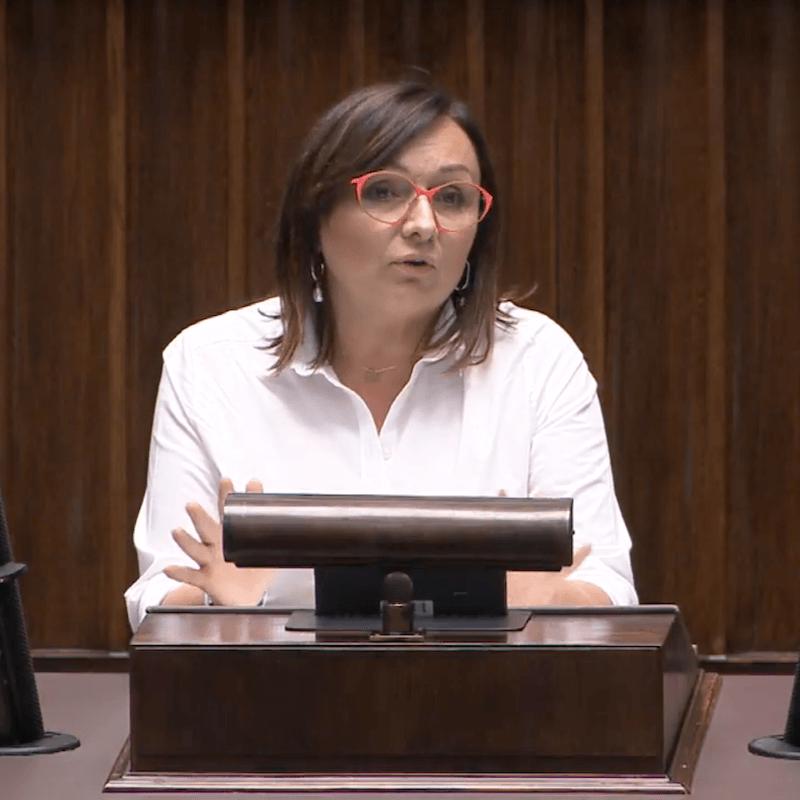 Posłanka KO Monika Wielichowska o ustawie pomocowej dla turystyki