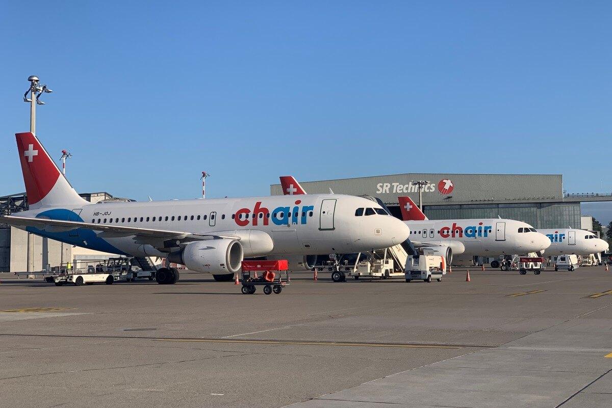 Samolot Chair Airlines wylądował w Warszawie
