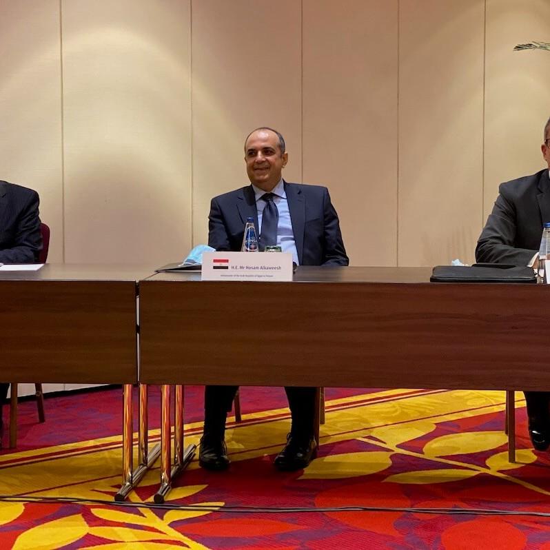 spotkanie z Ministrem Turystyki Egiptu