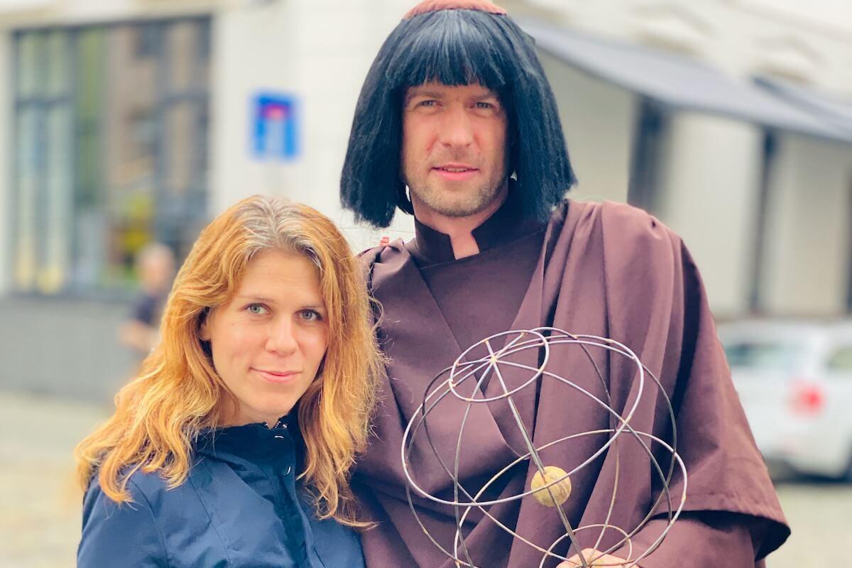 Z Kopernikiem Piotrem