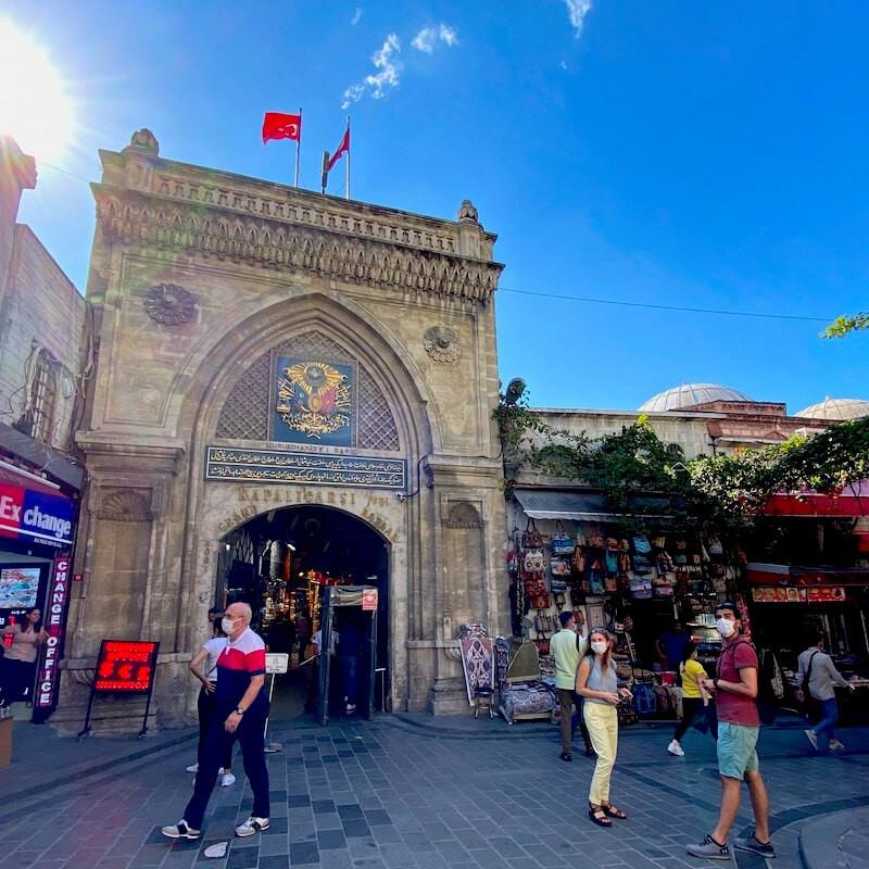 Stambuł Grand Bazar w Turcji