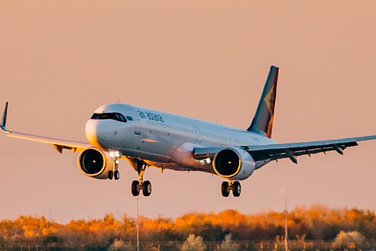 Air Astana tnie liczbę lotów