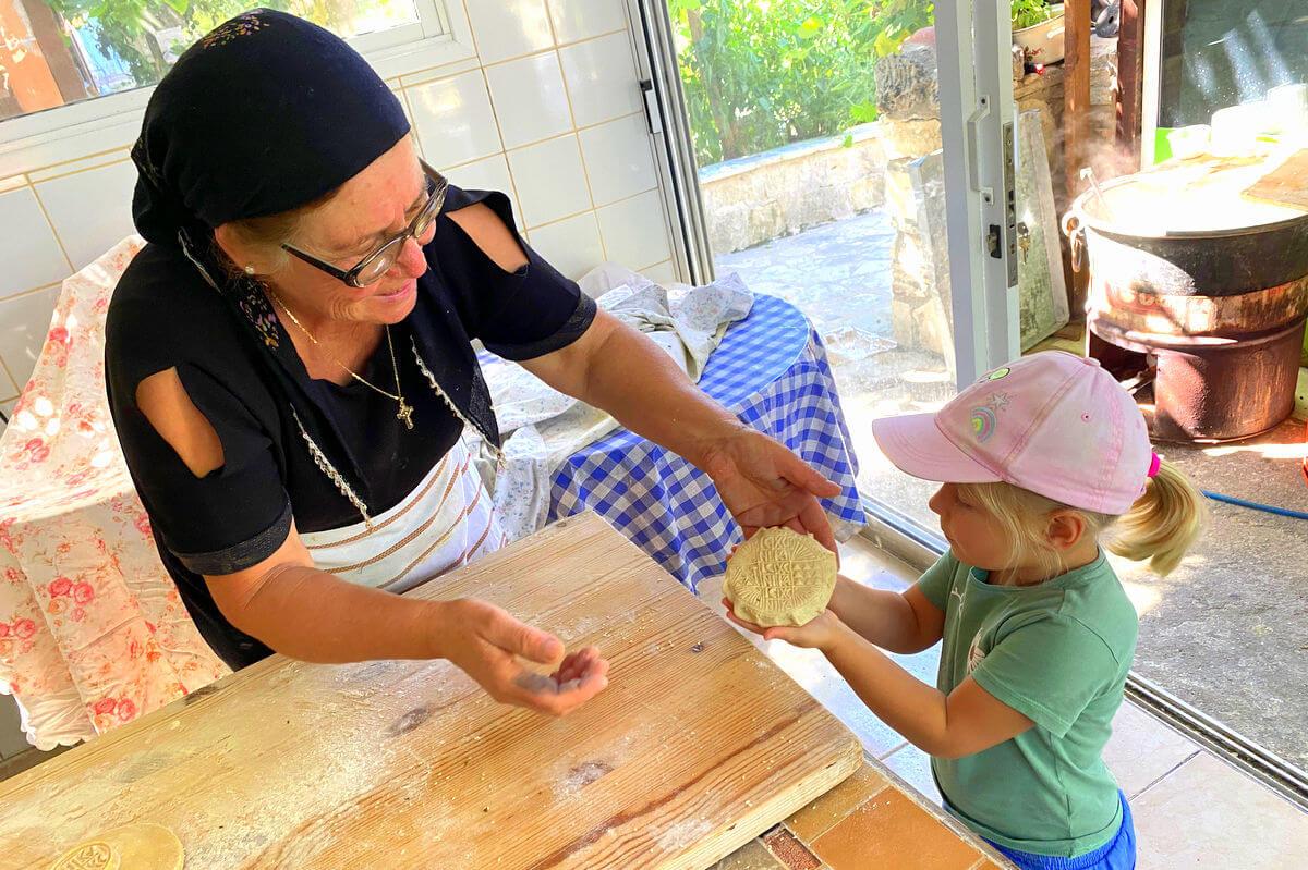 Pieczenie chleba po cypryjsku