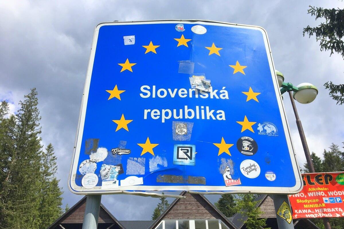 Słowacja dostępna tylko z testem