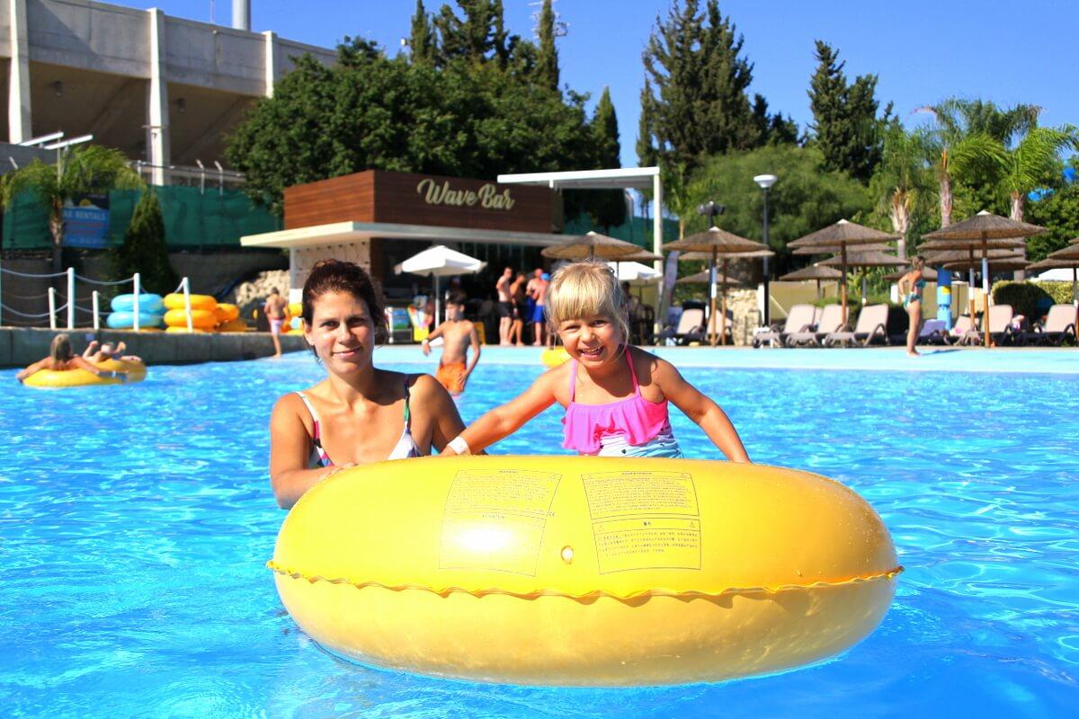 Najlepszy park wodny na Cyprze