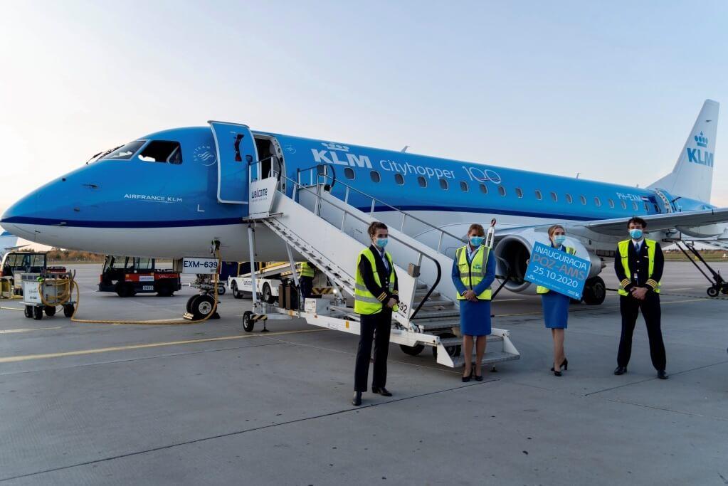 KLM rozszerza sieć połączeń z Polski